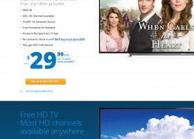 Charter.com TV Page